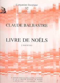 Claude-Bénigne Balbastre - Volume 2 Christmas Book - Sheet Music - di-arezzo.co.uk