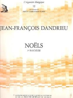 Noëls Livre 1 - Jean-François Dandrieu - Partition - laflutedepan.com