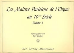 - The Paris Masters of the Volume 1 Organ - Sheet Music - di-arezzo.com