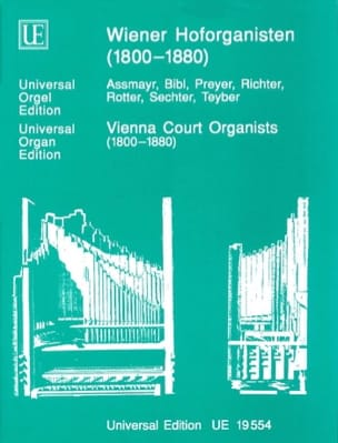 - Organists At The Court Of Vienna 1800-1880 - Sheet Music - di-arezzo.com
