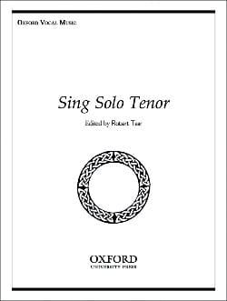 Sing Solo Tenor Partition Recueils - laflutedepan