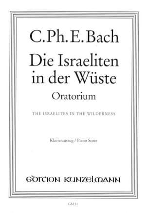 Die Israeliten in der Wüste Carl-Philipp Emanuel Bach laflutedepan