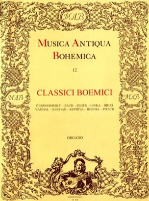 Classici Boemici - Partition - Orgue - laflutedepan.com