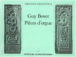 Pièces D'Orgue - Guy Bovet - Partition - Orgue - laflutedepan.com