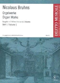 L'oeuvre D'orgue Volume 1 Nicolaus Bruhns Partition laflutedepan