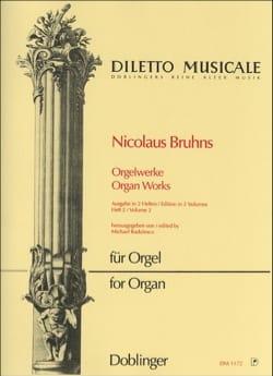 L'oeuvre D'orgue Volume 2 - Nicolaus Bruhns - laflutedepan.com