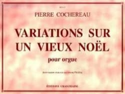 Pierre Cochereau - Variations on an old Christmas - Partition - di-arezzo.co.uk
