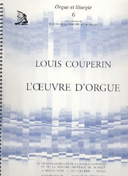 Louis Couperin - L' Oeuvre D'Orgue - Partition - di-arezzo.fr
