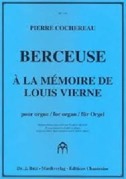 Berceuse Pierre Cochereau Partition Orgue - laflutedepan