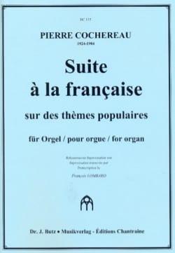Pierre Cochereau - Suite à la Française - Partition - di-arezzo.fr