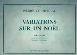 Variations Sur un Noël Pierre Cochereau Partition Orgue - laflutedepan