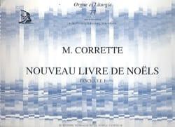 Michel Corrette - Nouveau Livre de Noëls Volume 1 - Partition - di-arezzo.fr
