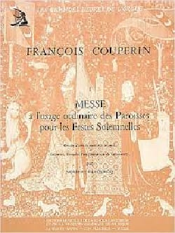 François Couperin - Mass with Ordinary Use of Parishes - Sheet Music - di-arezzo.co.uk
