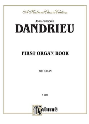 Jean-François Dandrieu - 1st Organ Book - Sheet Music - di-arezzo.co.uk