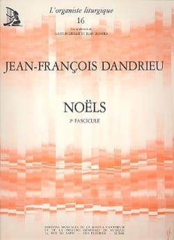 Jean-François Dandrieu - Noëls Livre 2 - Partition - di-arezzo.fr