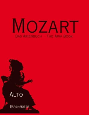 MOZART - Das ArienBuch Alto - Sheet Music - di-arezzo.co.uk