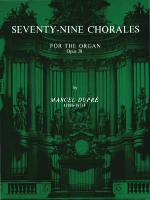 Marcel Dupré - 79 Chorals Opus 28 - Sheet Music - di-arezzo.co.uk