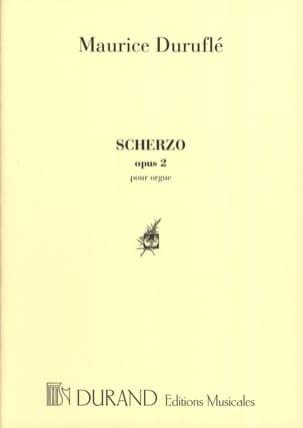 Scherzo. Opus 2 DURUFLÉ Partition Orgue - laflutedepan