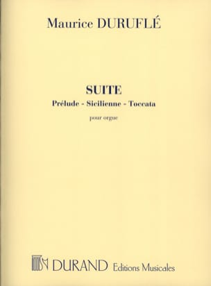 Maurice Duruflé - Opus Suite 5 - Sheet Music - di-arezzo.co.uk