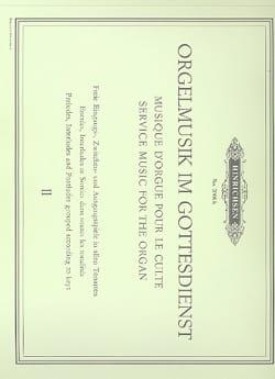 Orgelmusik Im Gottesdienst. Volume 2 - Sheet Music - di-arezzo.com