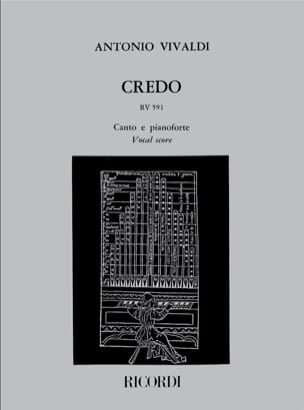 VIVALDI - Creed. RV 591 - Sheet Music - di-arezzo.co.uk