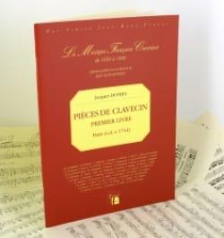 Jacques Duphly - Premier Livre de Pièces de Clavecin - Partition - di-arezzo.fr