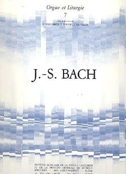 BACH - 6 Chorals - Partition - di-arezzo.fr