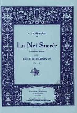 Cécile Chaminade - La Nef Sacrée Opus 171 - Partition - di-arezzo.fr