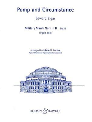Edward Elgar - Pomp & Circumstance Opus 39-1 - Partition - di-arezzo.fr