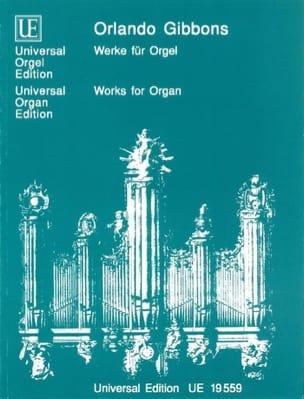 Oeuvres Pour Orgue Orlando Gibbons Partition Orgue - laflutedepan