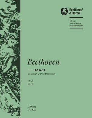 BEETHOVEN - Fantasy Opus 80. Solo Piano - Sheet Music - di-arezzo.co.uk