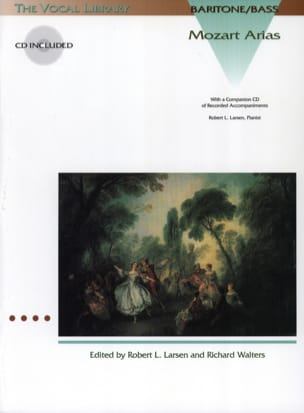 Mozart Arias. Baryton - Basse MOZART Partition Opéras - laflutedepan