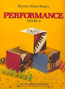 Bastien - Performance Level 4 - Version UK - Partition - di-arezzo.fr