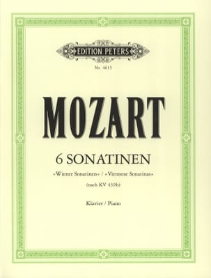 MOZART - 6 Viennese Sonatins - Sheet Music - di-arezzo.co.uk