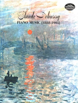 Piano Music 1888-1905 DEBUSSY Partition Piano - laflutedepan