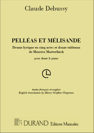 DEBUSSY - Pelleas and Melisande - Sheet Music - di-arezzo.co.uk