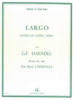Largo - Georg-Friedrich Haendel - Partition - Orgue - laflutedepan.com