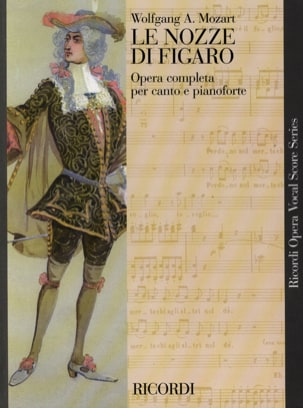 MOZART - The Nozze Di Figaro K 492 - Sheet Music - di-arezzo.co.uk