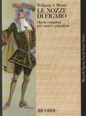 MOZART - Le Nozze Di Figaro K 492 - Partition - di-arezzo.fr