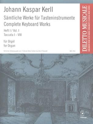 Johann Kaspar Kerll - Complete Works Volume 1 - Sheet Music - di-arezzo.co.uk
