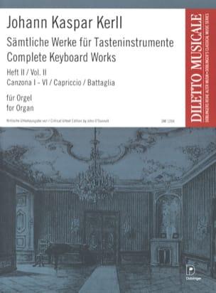 Oeuvres Complètes Volume 2 - Johann Kaspar Kerll - laflutedepan.com