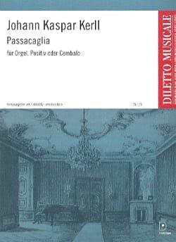 Passacaglia - Johann Kaspar Kerll - Partition - laflutedepan.com