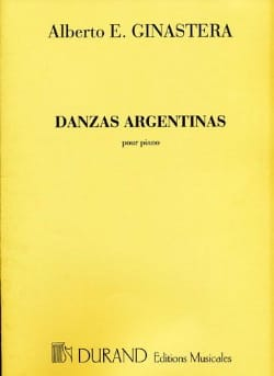 Alberto Ginastera - 3 Argentine dances. - Sheet Music - di-arezzo.co.uk