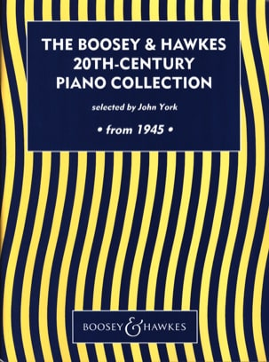 20th Century Piano Collection Depuis 1945 Partition laflutedepan