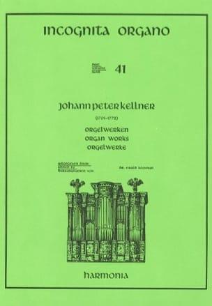 Johann-Peter Kellner - Oeuvre D'orgue - Partition - di-arezzo.fr