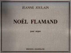 Jeanne Joulain - Flemish Christmas - Sheet Music - di-arezzo.co.uk