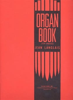 Jean Langlais - Organ Book - Partition - di-arezzo.fr