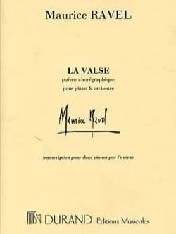 La Valse. 2 Pianos Maurice Ravel Partition Piano - laflutedepan