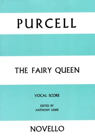 The Fairy Queen PURCELL Partition Opéras - laflutedepan