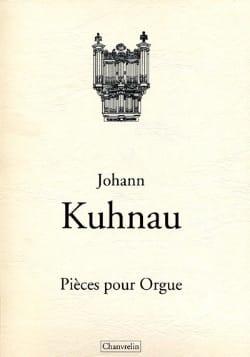 Johann Kuhnau - Pièces Pour Orgue - Partition - di-arezzo.fr